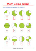 Learning Fractions - Math Worksheets 2nd Grade