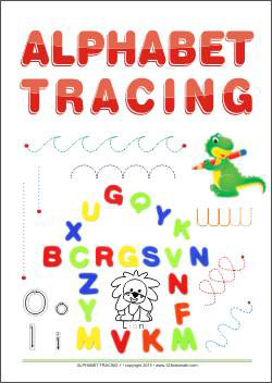 Alphabet Tracing - Writing Letters
