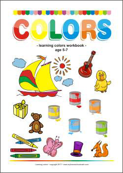 Learning Colors Workbook