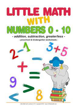 Little Math with Numbers up to 10 Worksheets