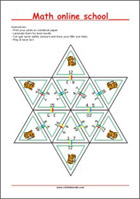 Math learning cards - Multiplication - Math Worksheets 2nd Grade