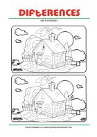 Visual Perception Worksheets - Find 7 differences