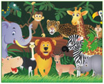 Online Jigsaw Puzzle - Jungle