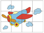 Online Puzzle Game - Plane