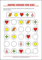 Printable Sudoku Puzzles for Kids with solution