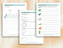 Pre-writing Activities - Writing and Tracing Worksheets