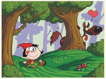 Online Jigsaw Puzzle - Red Riding Hood