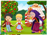 Hansel and Gretel - Online Jigsaw Puzzle - Easy