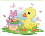 Online Jigsaw Puzzle - Easter Duck