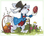Online Jigsaw Puzzle - Easter Rabbit