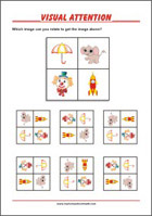 Worksheets To Improve Focus And Visual Attention