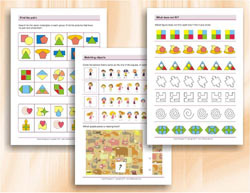 Visual Perception - Worksheets to improve visual perception age 7-10
